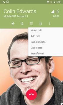 Zoiper IAX SIP VOIP Softphone screenshot 2