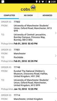 Cabs.com Driver screenshot 3