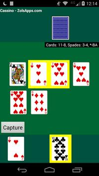 Cassino Card Game screenshot 4