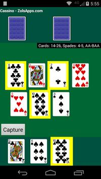 Cassino Card Game screenshot 5
