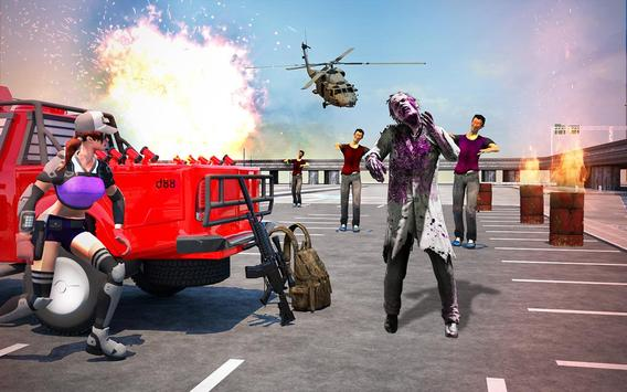 Zombie Shooting Attack screenshot 4