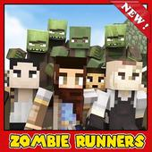 Zombie Runners - Survival maps for Minecraft pe icon