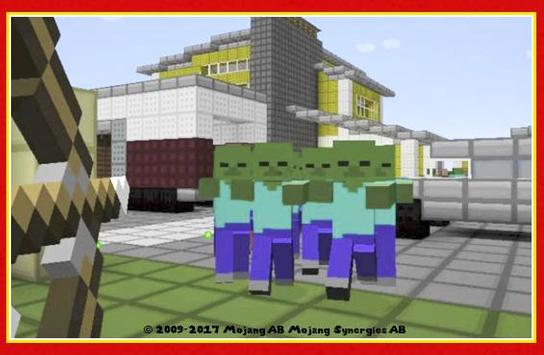 Zombie Runners - Survival maps for Minecraft pe screenshot 2