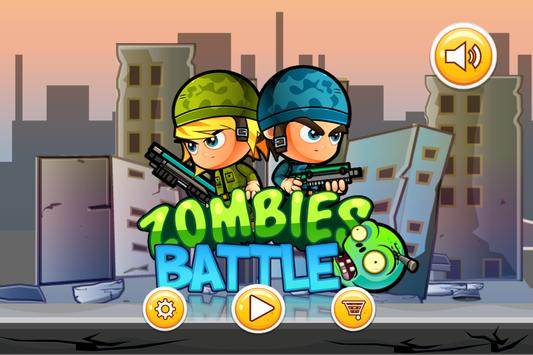 Zombies Battle poster