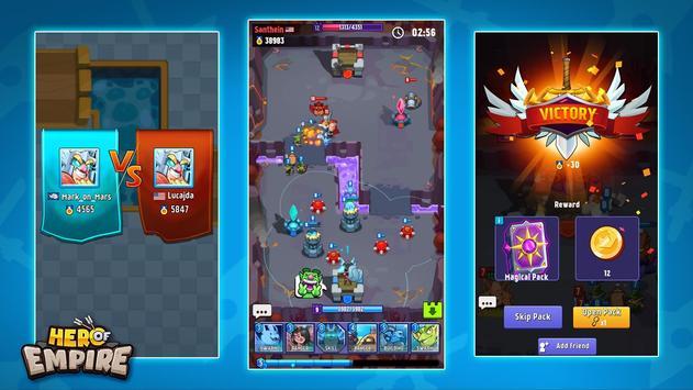 Hero of Empire: Clash Kingdoms RTS screenshot 6