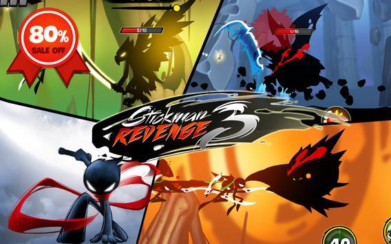 Stickman Revenge 3: League of Heroes 截图 14