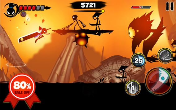 Stickman Revenge 3: League of Heroes 截图 15