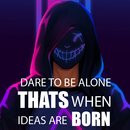 🔥Anonymous Attitude Quotes| Wallpaper|Cool Status APK Android