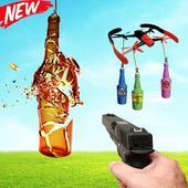 Bottle Gun Shooter : Fun Free Shooting icon