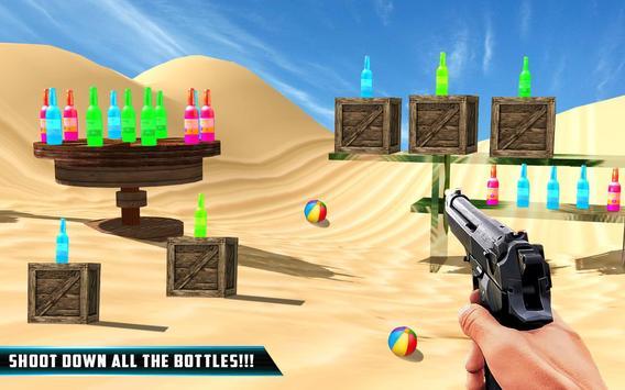 Bottle Gun Shooter : Fun Free Shooting poster