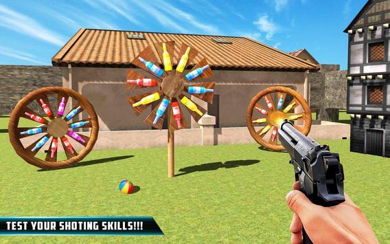 Bottle Gun Shooter : Fun Free Shooting screenshot 1