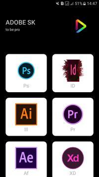 Design apps shortcut keys poster