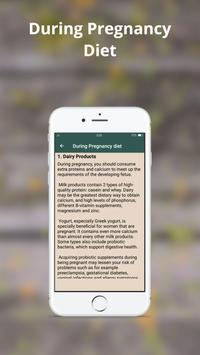Pregnancy exercise and diet plan screenshot 2