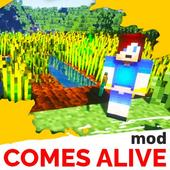 Comes alive mod for minecraft pe icon