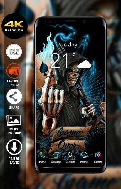 Skull Grim Reaper Wallpapers 4K for Android - APK Download
