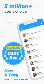 Messenger app, Light All-in-One, Live Free Chat poster