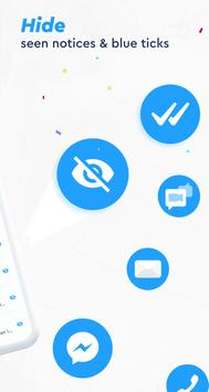 Messenger app, Light All-in-One, Live Free Chat screenshot 1