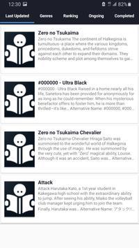 Manga Dark - Top Free Manga Reader screenshot 2