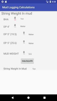 Mud Logging Calculations screenshot 1