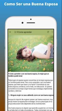 Como Ser una Buena Esposa screenshot 1
