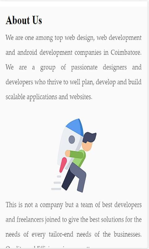 Atooz - Web design , Web and App development for Android