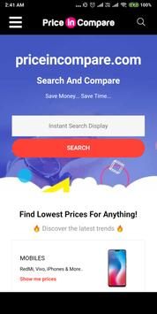 Price Comparison Online Shopping App poster