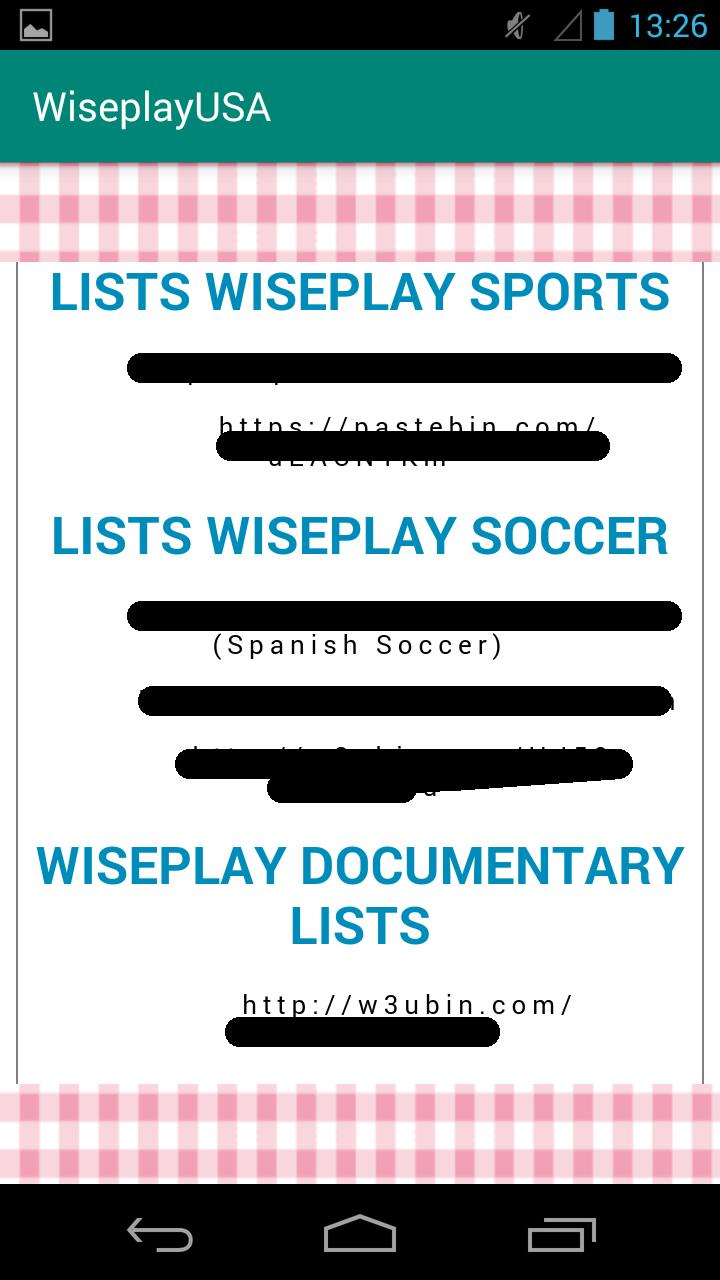 lists for Wiseplay 2019 for Android - APK Download