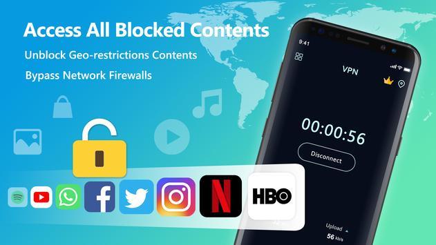 VPN Free 스크린샷 1