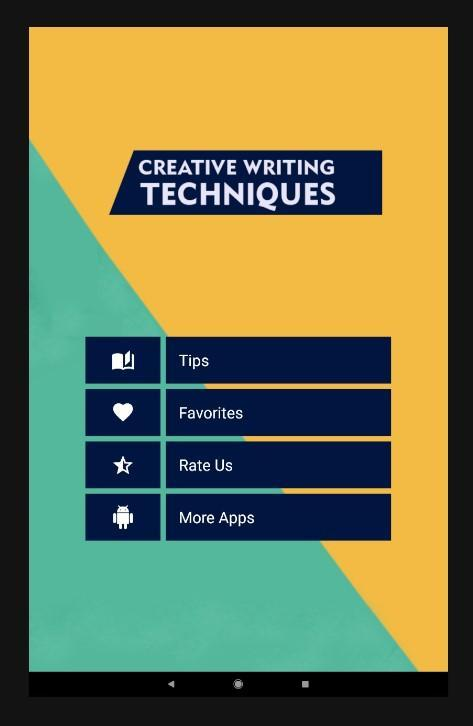 Creative Writing Techniques for Android - APK Download