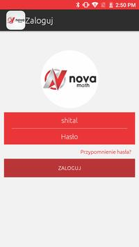 Konkurs matematyczny NovaMath poster