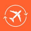 Billigflug App & Vergleiche günstige Flüge Zeichen