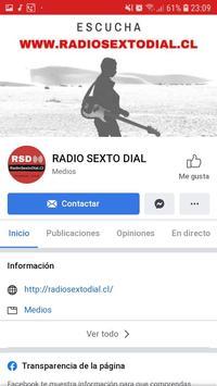 Radio Sexto Dial captura de pantalla 3