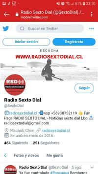 Radio Sexto Dial captura de pantalla 4
