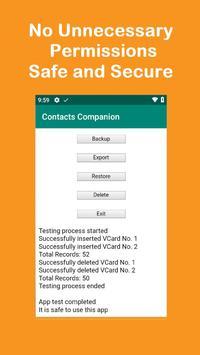 Contacts Companion screenshot 2