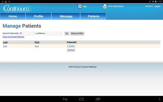 Continuum Pediatric screenshot 1
