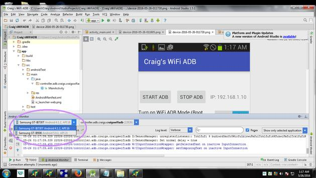 Craig's Auto WiFi ADB Root screenshot 1