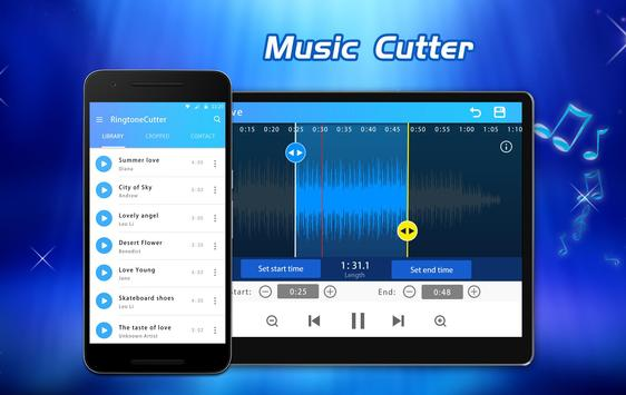 Mp3 Cutter - Ringtone Maker & Music Cutter poster
