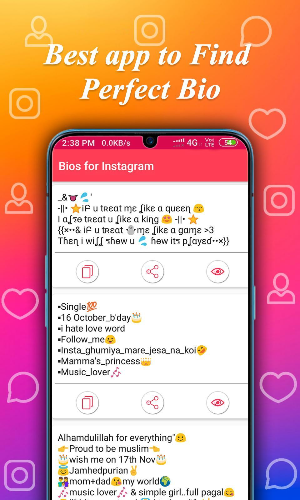 Cool Bio Quotes Ideas for Android - APK Download