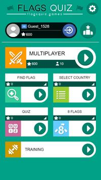 Multiplayer Flags Quiz poster