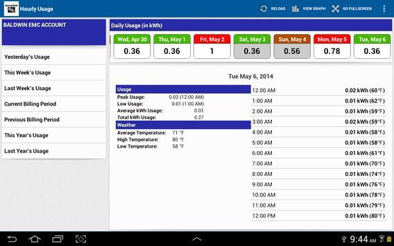 Baldwin EMC screenshot 6
