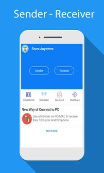 Share - File Transfer & Connect screenshot 3