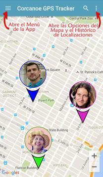 Localizador GPS Corcanoe Poster