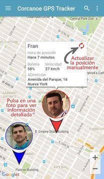 Localizador GPS Corcanoe captura de pantalla 5
