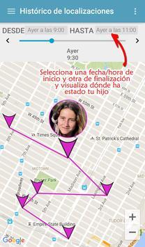 Localizador GPS Corcanoe captura de pantalla 6