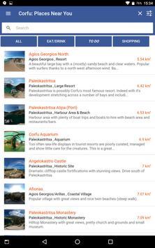 Corfu Blue Tourist Guide screenshot 12