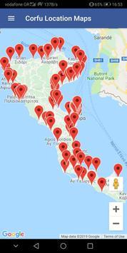 Corfu Blue Tourist Guide screenshot 1