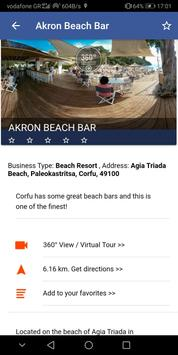 Corfu Blue Tourist Guide screenshot 4
