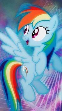 Cute Neon Pony Wallpapers screenshot 4