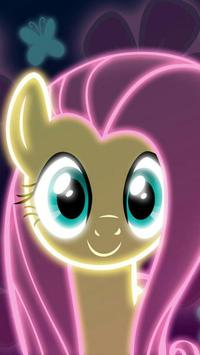 Cute Neon Pony Wallpapers screenshot 7