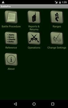 Battle Procedure Aide Memoire 截圖 4